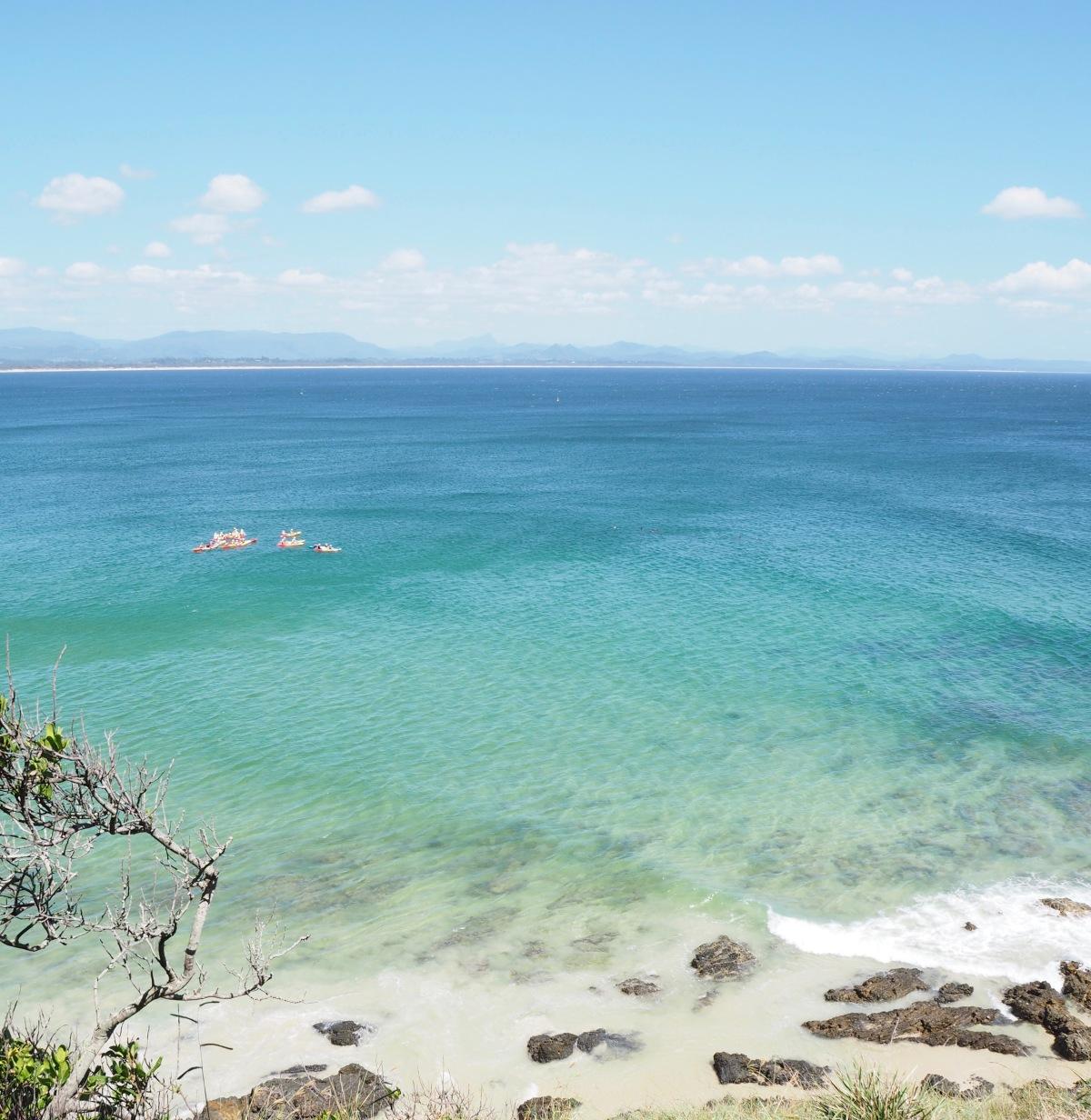 Kingscliffe to Ballina,NSW.