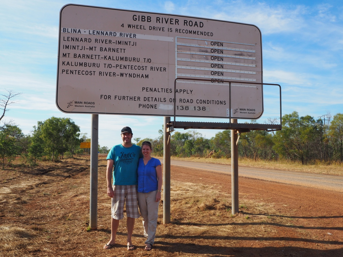 Derby to Halls Creek